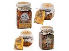 Сухофрукты и орехи в меду